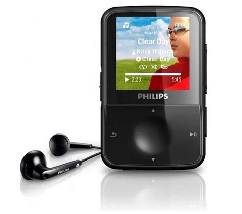 Best Philips GoGear Vibe 8GB MP3 Player Prices in