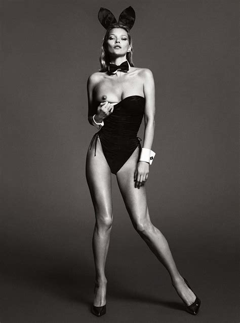 Happy Easter: Here's Kate Moss As A Playboy Bunny