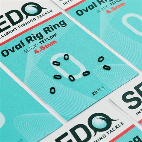 Oval Rig Ring - SEDO - Intelligent Fishing Tackle