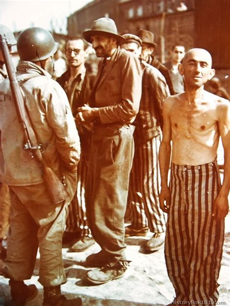 Color Pictures of Concentration Camp durning World War II