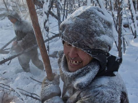 Pictures from Oymyakon, Russia, the coldest town on Earth