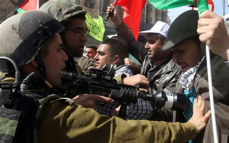 Report: Israel using excessive force against Palestinians