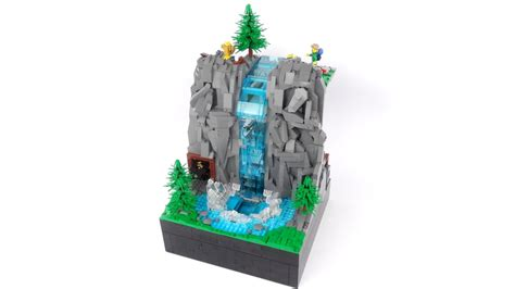 LEGO Ideas Working Waterfall Achieves 10,000 Supporters