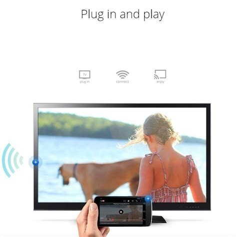 Smart Cast VSMART V5ii Ezcast DLNA Miracast Airpaly